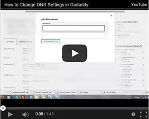 how to change dns settings in godaddy